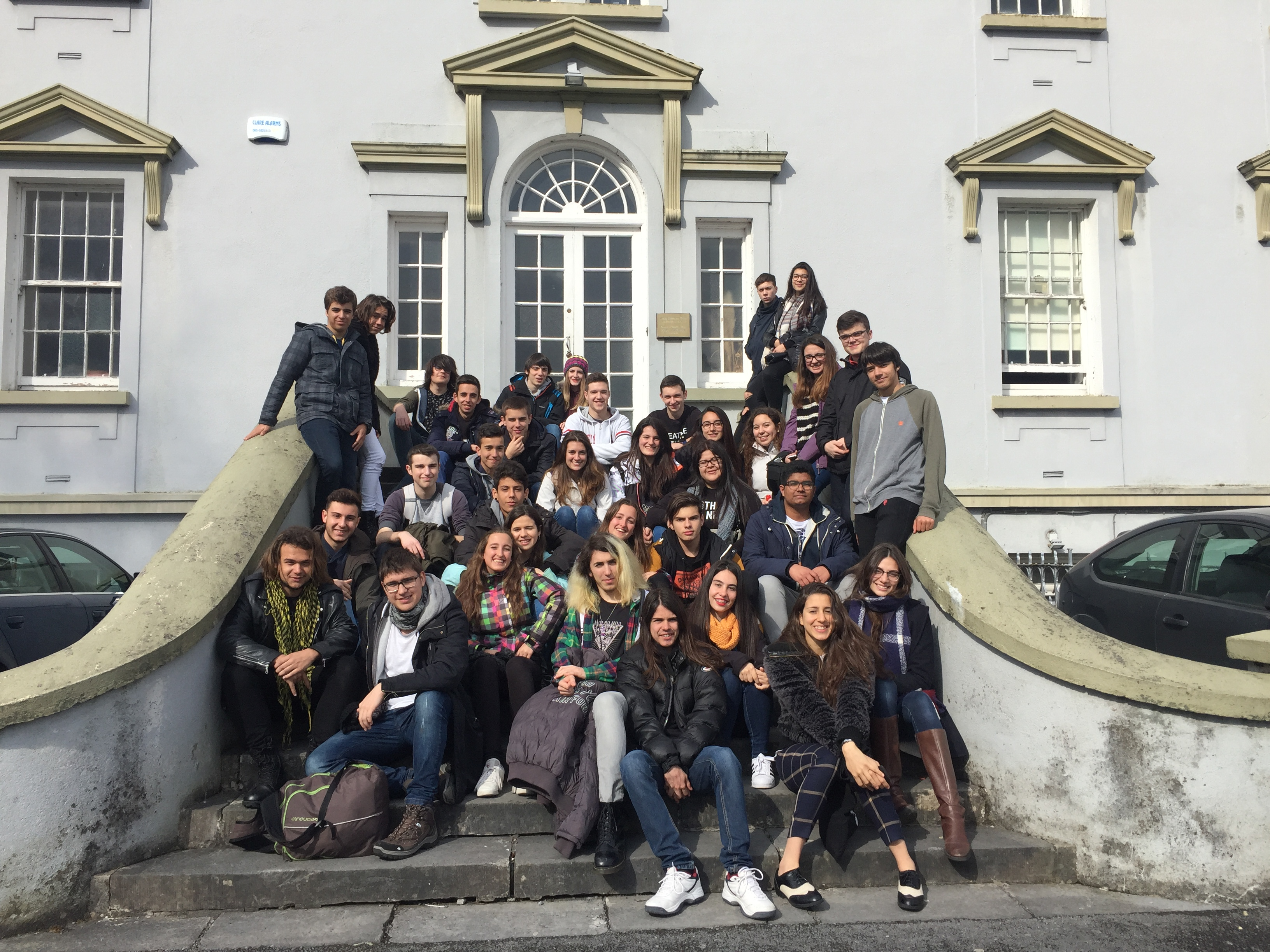 1r de batxillerat: Linguistic trip to Ennis (Ireland)