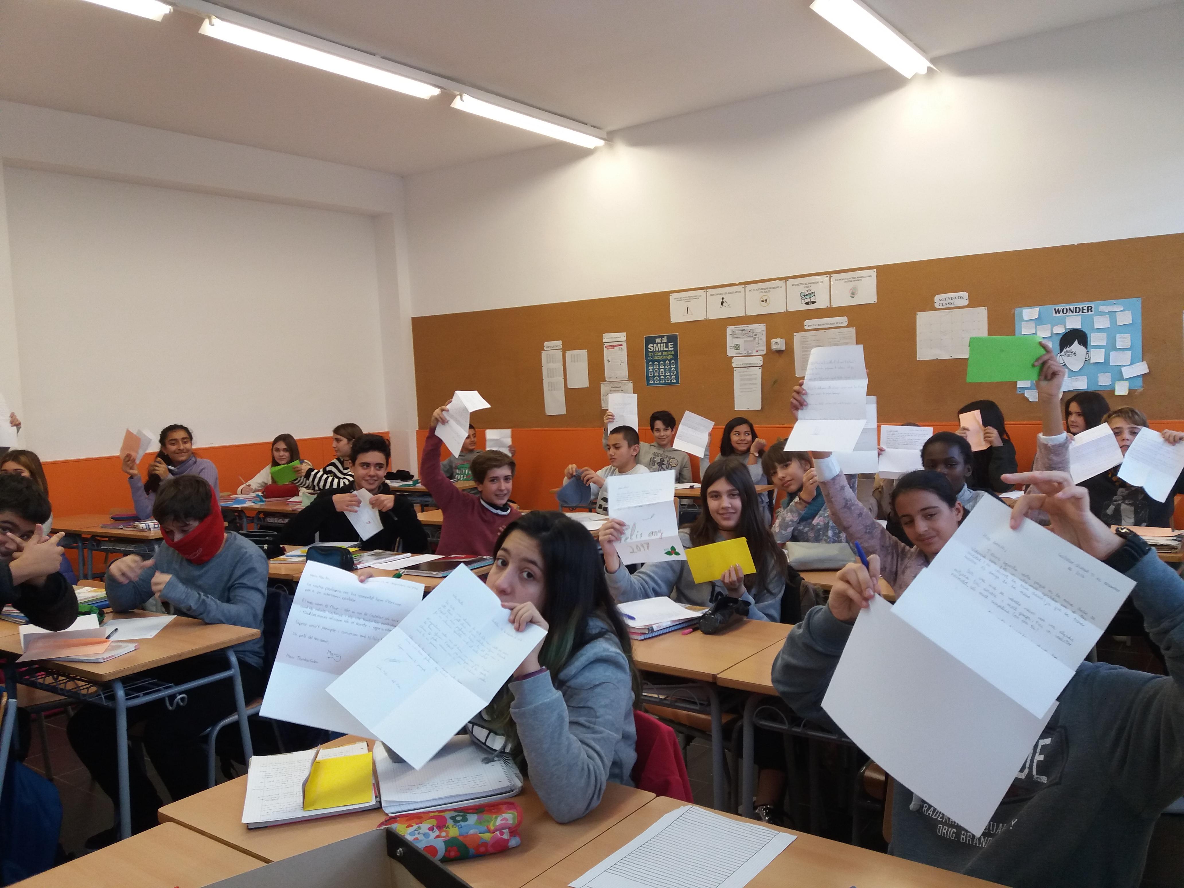 Intercanvi amb l'Institut El Ravatxol de València, Projecte de llengua catalana de 1r d'ESO